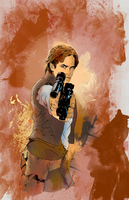 Star Wars Commission Preview by QuestingRaven