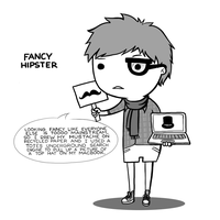Fancy Hipster by arseniic