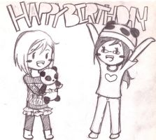 Happy Birthday Phatpandax3 by Aisuki-Chan