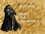 Gabranth - Noah fon Ronsenburg by Cyruny