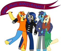 CAC One Year Anniversary by 0Nautile18E26
