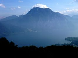Traunstein und Traunsee by monia00