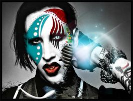 A Tribute to Marilyn Manson by dsgncore
