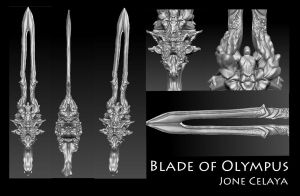 Blade of Olympus by EssenceJota