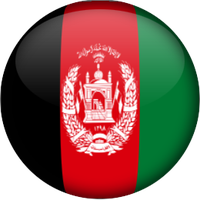 Afghanistan Country Globe Icon by Fr1ction
