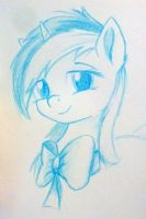 Lyra With Bowtie by Sokolas