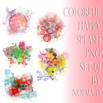 Splash png set 01 by noema-13