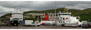Mallaig Harbour - Part 1 by janey-in-a-bottle