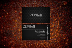 Zephyr Business Card by Kubah