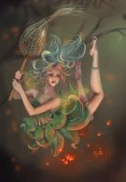 The wood fairy by Svezhaya
