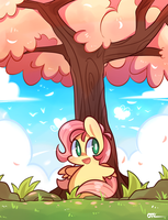Hello Spring~ by MACKINN7