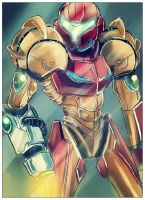 Samus Aran Varia Suit by DeaDia89