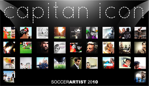 Icons wall by Capitan by SoccerArtist2010