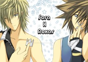 Two Halves of One: Roxas Sora by Alasse-Tasartir