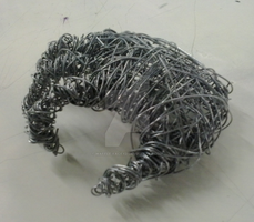 Wire hand:BTEC Art by waffle-faceXD