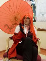 Grell Sutcliff by cursed-prince