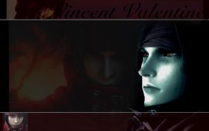 Vincent Valentine for Mana by BlackRoseBandKitsune