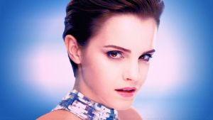 Emma Watson Angel in Silver by Dave-Daring