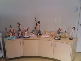 My Anime Figure Collection Mid 2011 by AnimeFigureFaction