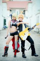Hagane: Kagamine Twins by keixtique69