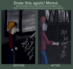 Before and After- Meme by merthurandbeatles