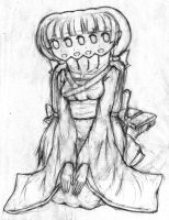 Kamanie the conjoined girl by jim830928