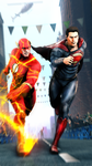 Flash vs Superman: The Fastest Man Alive by Scotchlover