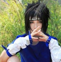 Cosplay Amazing-Sasuke Uchiha. by Marceline007