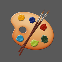 Color Pallete Icon by tickey