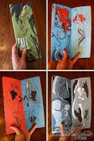TALL Sketchbook pics by J-Scott-Campbell