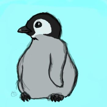 Baby Penguin by Stichpunk-0