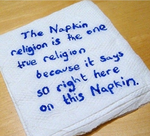 Napkinism is the one true religion by strangemask