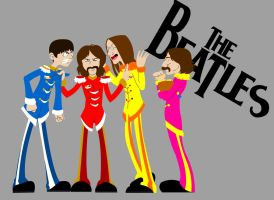 The Beatles by Sephie-monster