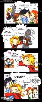Ed's Revenge - FMA Comic by KeyshaKitty