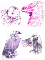 sassy vultures by slobbery