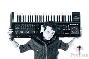 PP: A man and his synth.. by straightfromcamera
