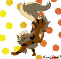 Arcanine by Roev-Art