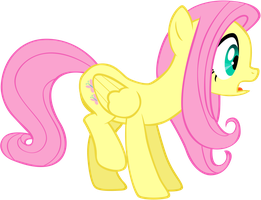 Fluttershy - Surprised by Liggliluff