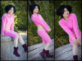 Amy Wong cosplay from Futurama by lillybearbutt