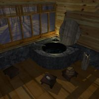 sauna in 3d by mixmismo
