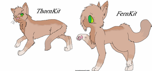 ThornKit and FernKit by xBananaBoatx