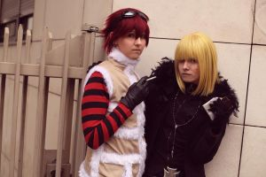 Mello/Matt by Mitsuko-Vicious