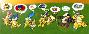 .:Collab:. Koopa Dreamings by CharmanDrigo
