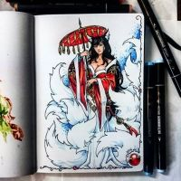 Instaart - Ahri by Candra