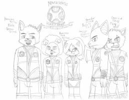 Furry Sentai Hurricanger by SonicFreak4455