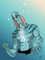 Abe Sapien in Colour by SasaBralic