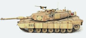 M1A2 SEP Abrams Tank by dlesko250