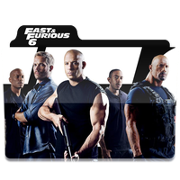 Fast and Furious 6 Folder Icon by Naif1470