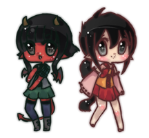 Alexandra and Yui by chao-chao