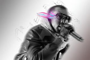 Kanye Tribute work in progress by Icono-Graphic